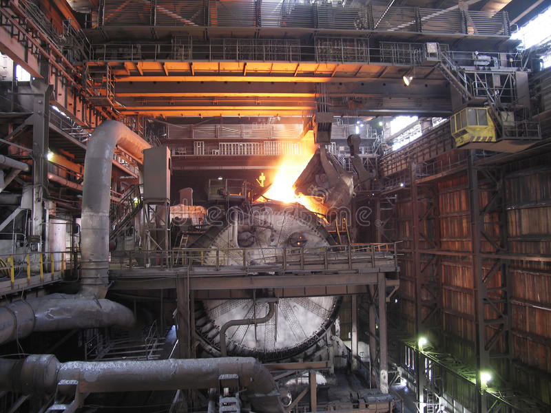 Metal da planta fotos de stock