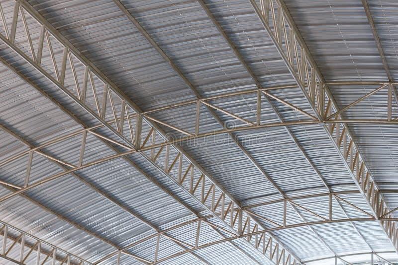 Metal dachowa struktura obraz stock