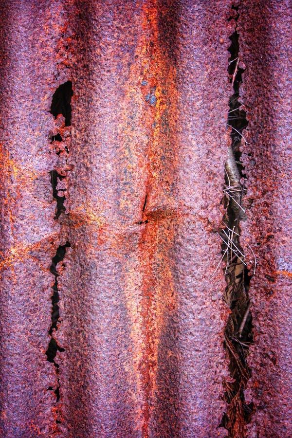 Metal de deterioração oxidado fotos de stock