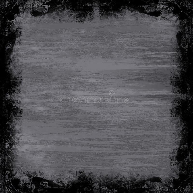 Metal de Grunge ilustração stock