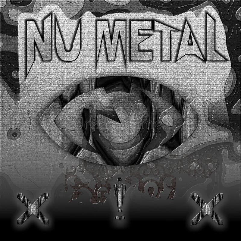 Metal de NU fotos de archivo