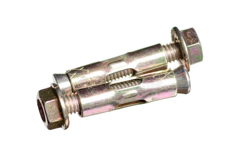 Metal del perno de ancla foto de archivo libre de regalías
