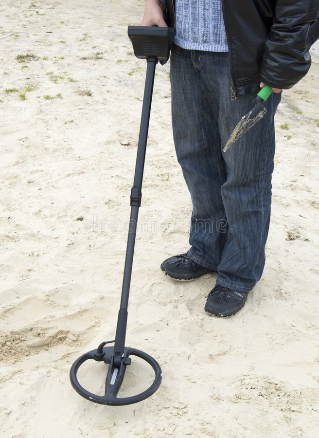 METAL DETECTOR Royalty Free Stock Images