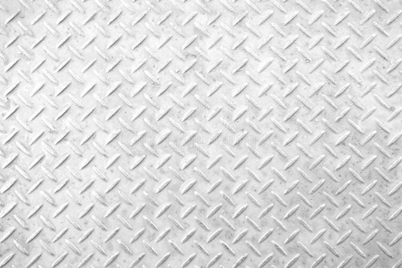 Metal diamond plate stock photo