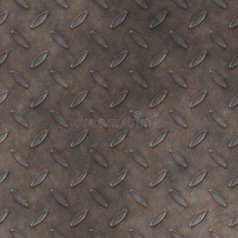 Metal Diamond Plate BackGround Stock Photos