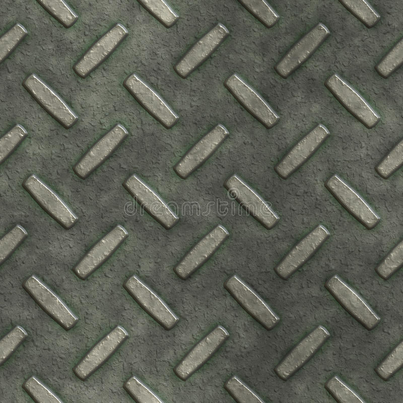 Download Metal Diamond Plate BackGround Stock Illustration - Image: 11990287