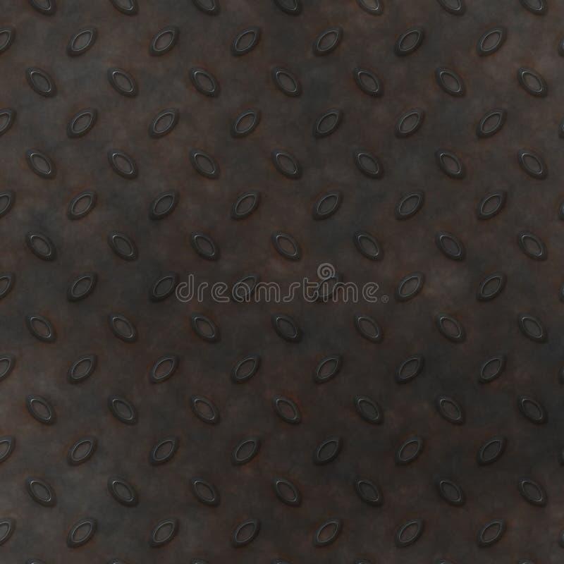 Metal Diamond Plate BackGround royalty free stock photos