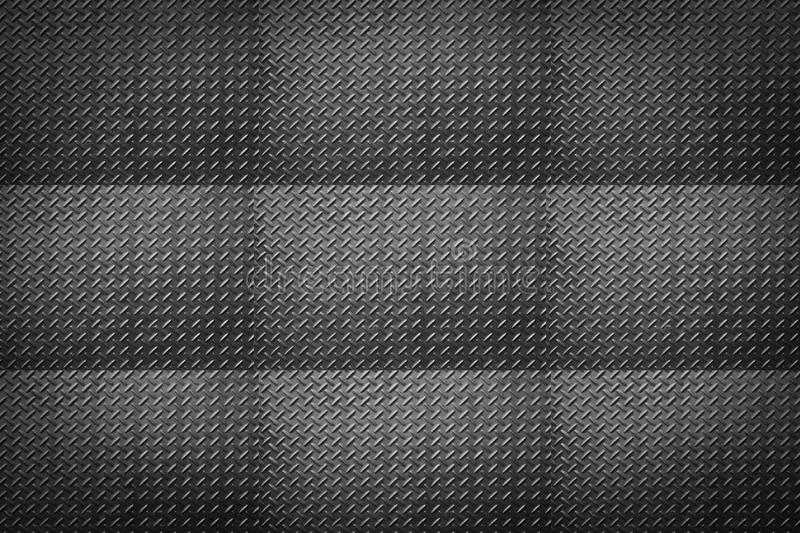 Metal diamond plate or old checkered steel plate. Metal diamond plate or old checkered steel plate with rustproof coating well. background. texture royalty free stock photo