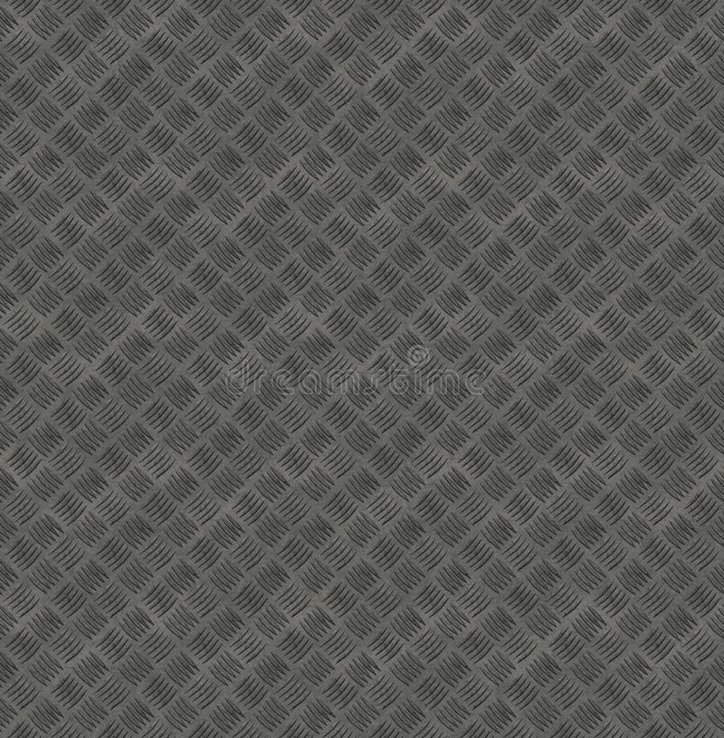 Metal do aperto que raspa a textura sem emenda - XL ilustração do vetor