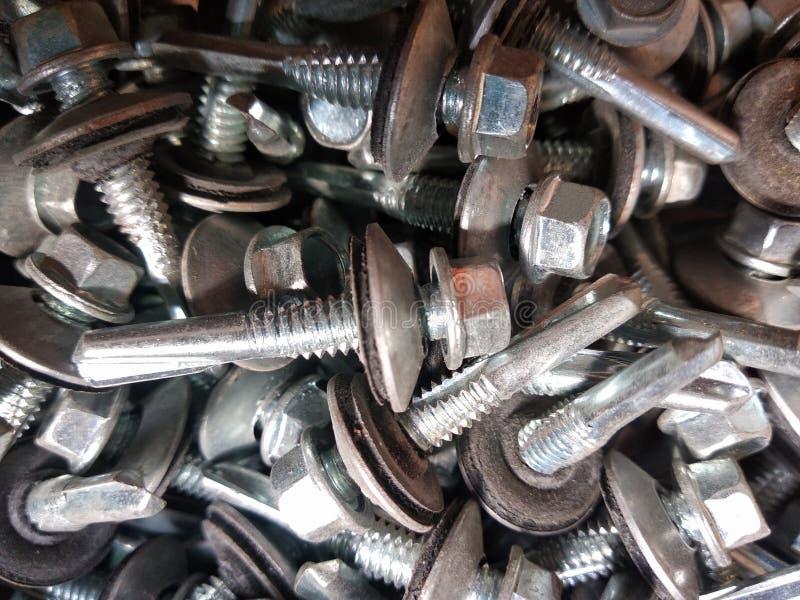 metal do parafuso da Auto-perfuração imagem de stock