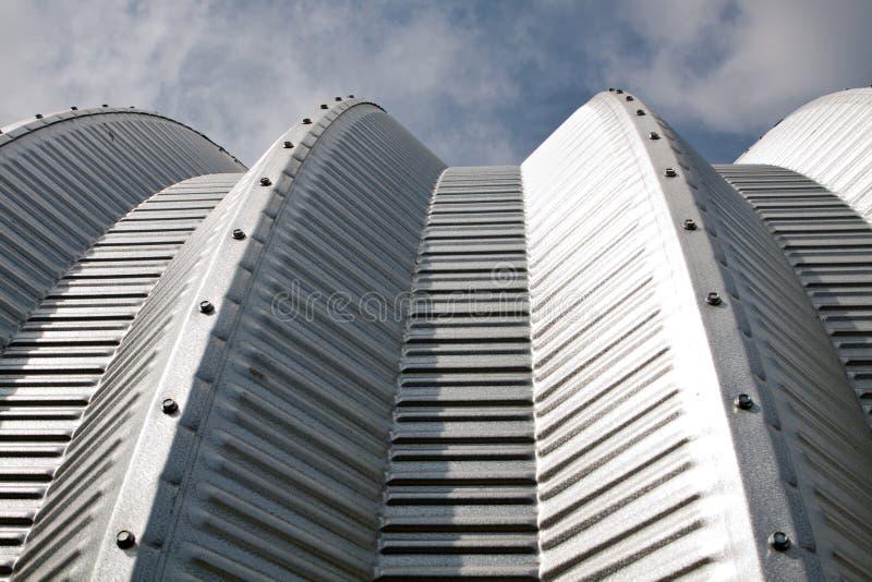 Metal el edificio imagen de archivo