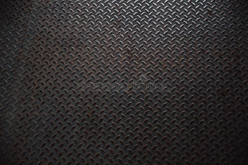 Metal el modelo de acero de la placa del pavimento de una cubierta de boca imagen de archivo libre de regalías