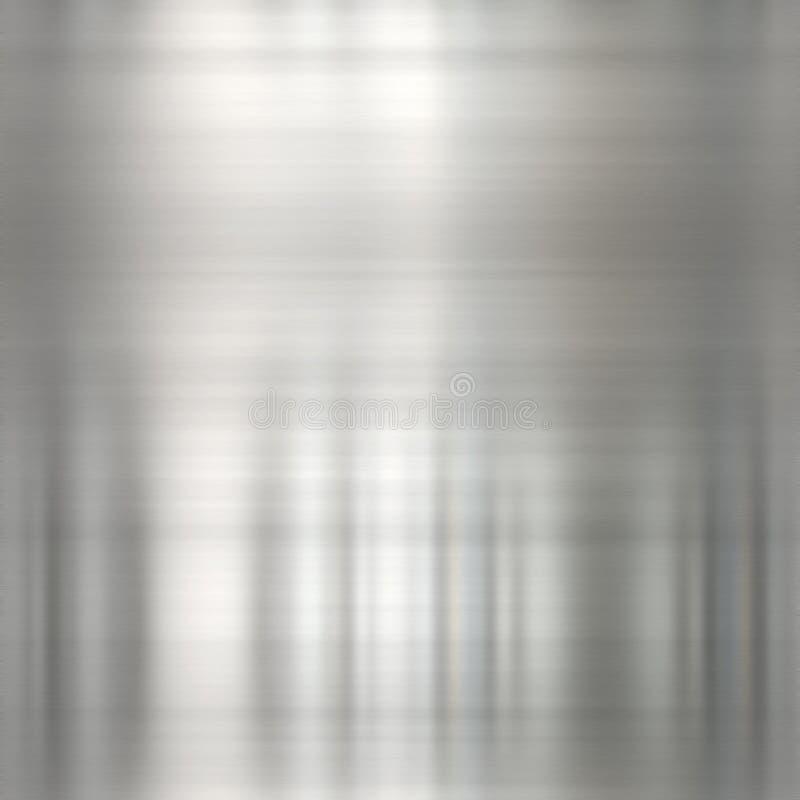 Metal escovado ilustração do vetor