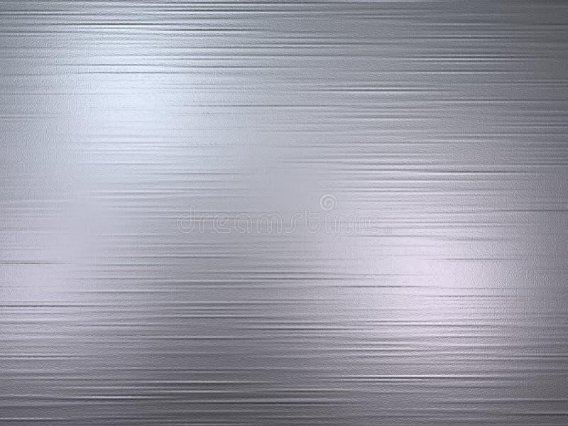 Metal escovado ilustração stock
