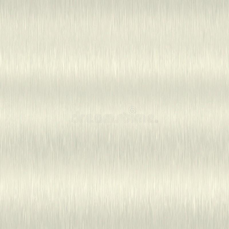 Metal escovado sem emenda ilustração royalty free