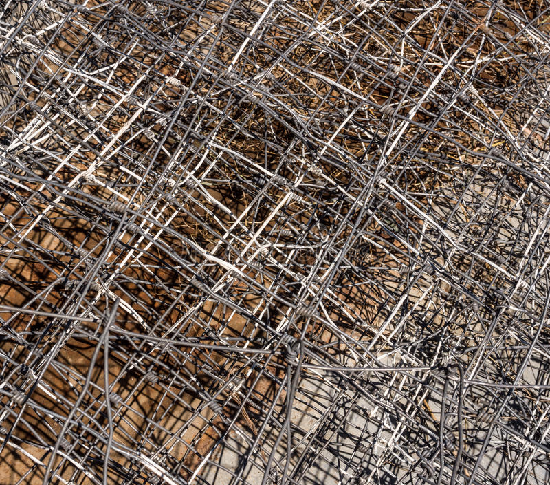 Download Metal fence abstract stock photo. Image of recycling - 26628002