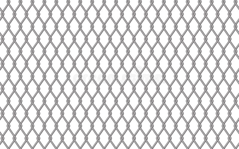 Metal fencing mesh royalty free stock photo