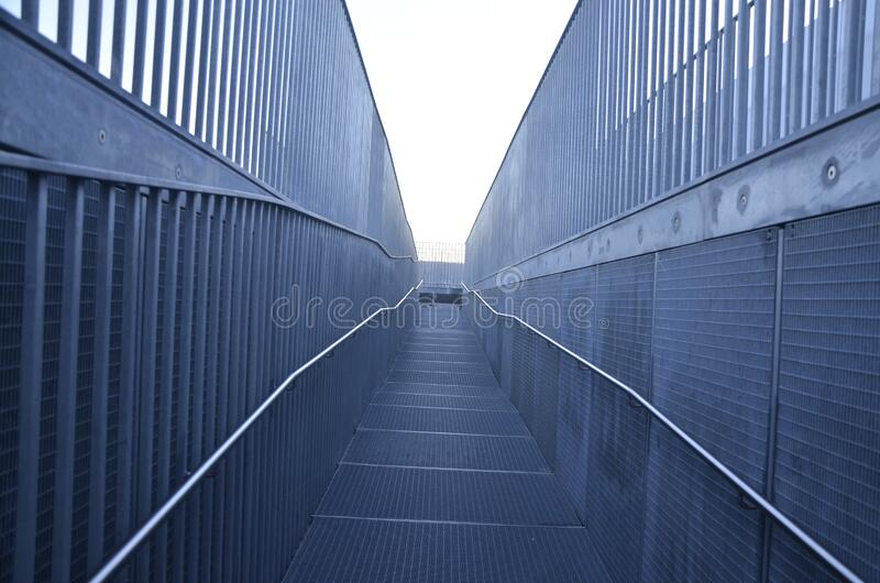 Metal Fencing And Walkway Free Public Domain Cc0 Image