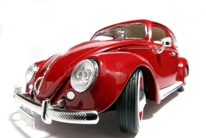Metal fisheye 1955 de VW Beatle de modèle de jouet d'échelle le vieux images stock