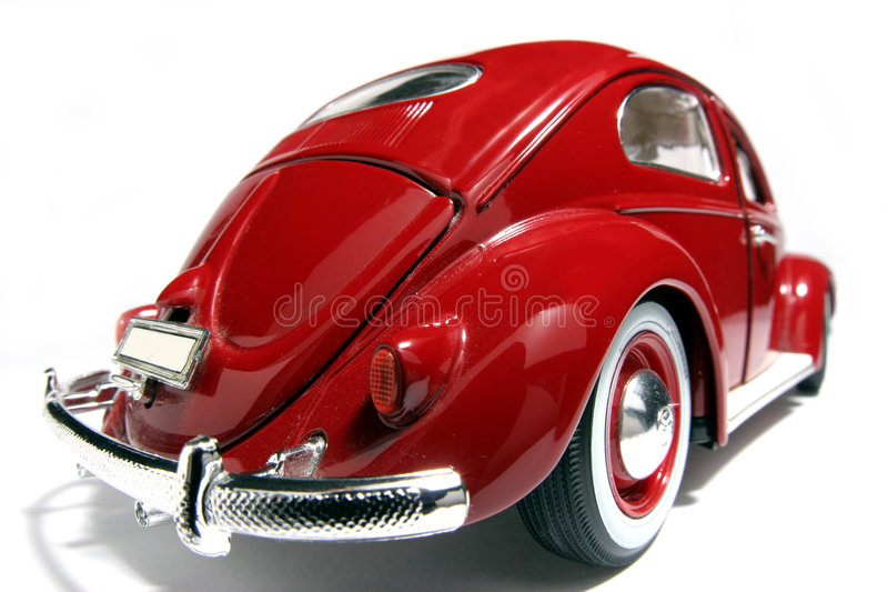 Metal fisheye 1955 de VW Beatle del modelo del juguete de la escala el viejo #2 foto de archivo