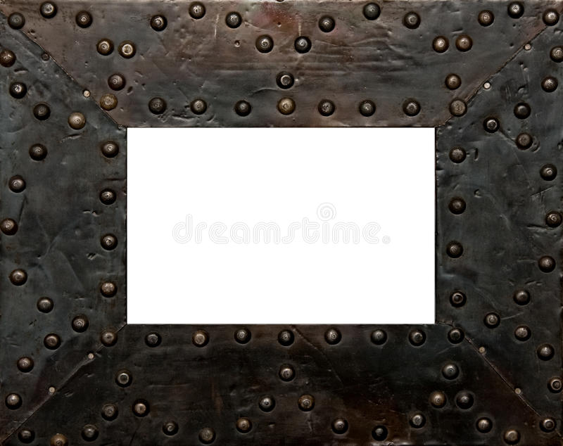 Download Metal frame stock image. Image of photo, isolated, metallic - 11170821