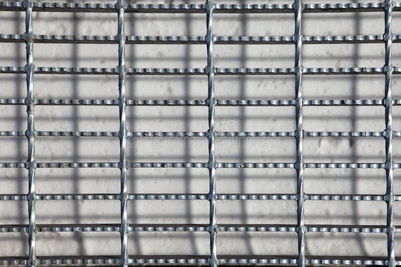 Metal gallret royaltyfria foton