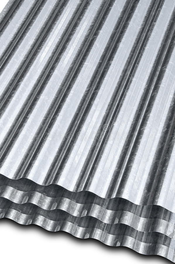 Metal Galvanized Sheet Stock Image Image Of Metal