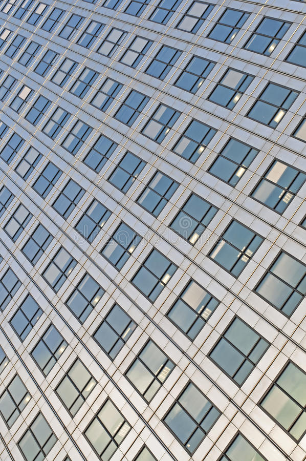 Metal & Glass Fronted Building stock photography