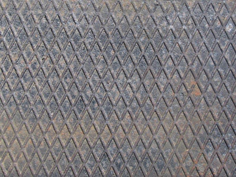Metal grid royalty free stock photos