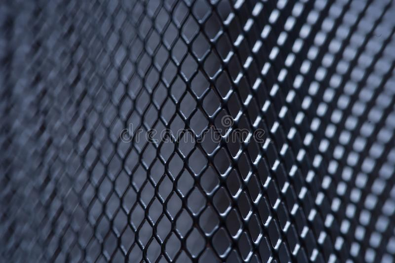 metal grid background, background monochrome. background metal. place for text royalty free stock photos