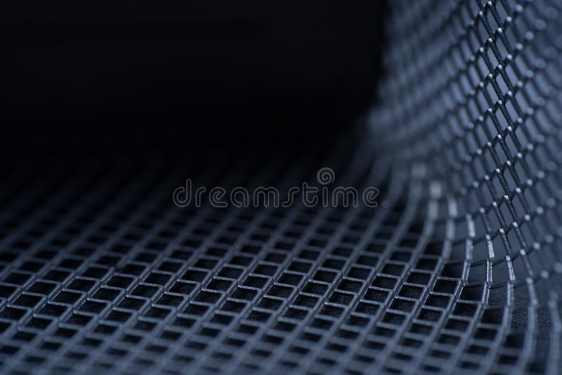 metal grid background, background monochrome. background metal. place for text stock photo