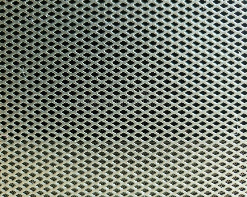 Metal Grid Background stock photo