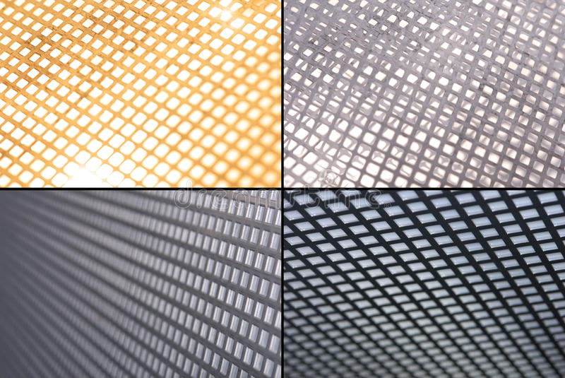 Download Metal grid grounds stock image. Image of industrial, dotted - 23656489