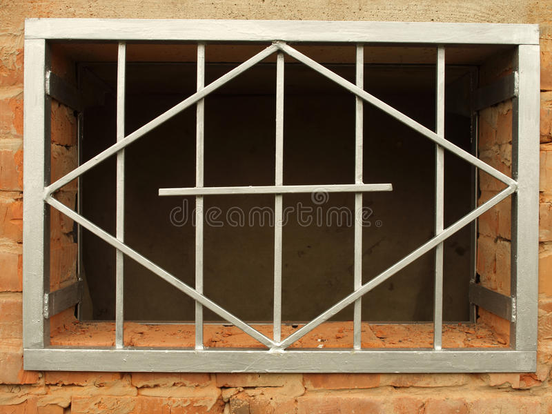 Download Metal Grid In The Window Royalty Free Stock Images - Image: 21747579