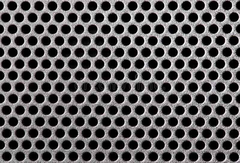 Metal Grill Dot Pattern Royalty Free Stock Image