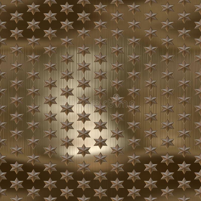 metal gwiazdy ilustracja wektor