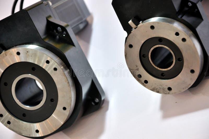 Metal hardware of industrial equipment stock photos