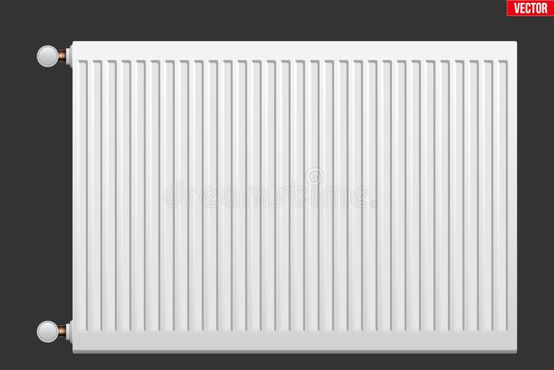 Metal Heating radiator stock vector. Illustration of radiator ...