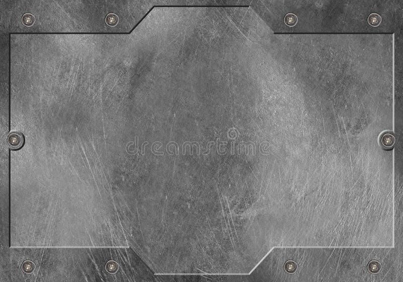Metal Hintergrund lizenzfreie stockbilder