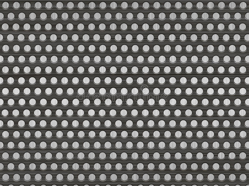Download Metal with holes stock illustration. Image of reflection - 18169632
