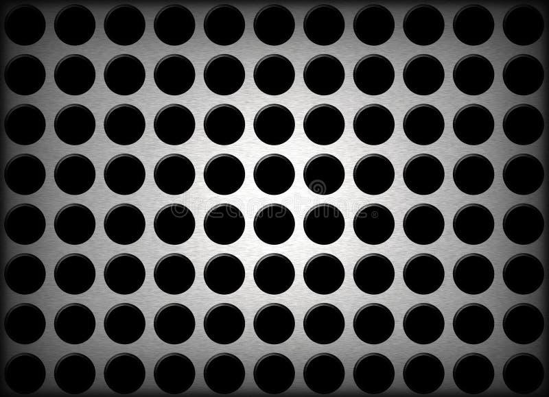 Metal Holes Background