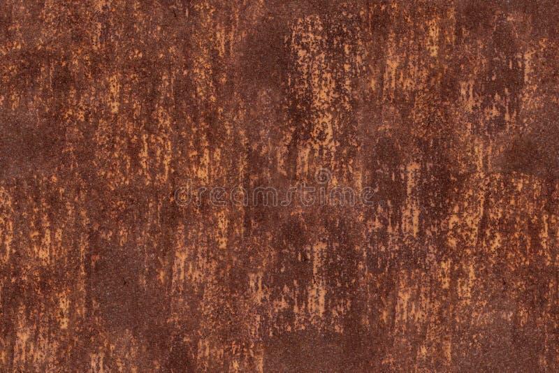 Metal il fondo della ruggine, arrugginito sporco del vecchio metallo del sito Web di panorama dell'intestazione immagine stock