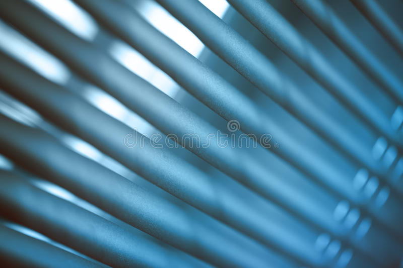 Metal jalousie background stock photos