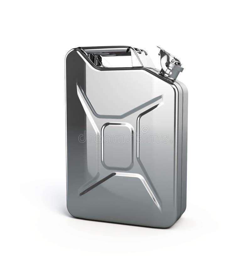 Metal Jerrycan Stock Image