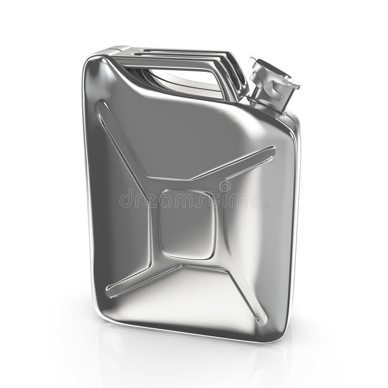 Download Metal jerrycan stock illustration. Illustration of fuel - 25566478