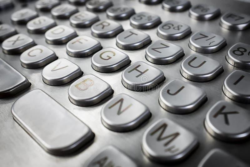 Download Metal Keyboard Stock Photo - Image: 35688710