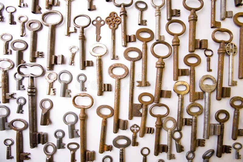 Metal keys royalty free stock photo