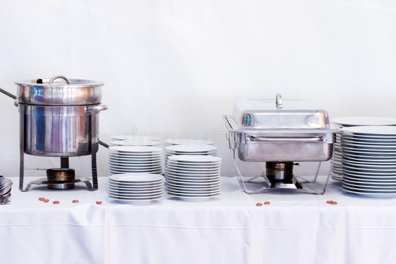 Metal Kitchen Equipments Stock Photos