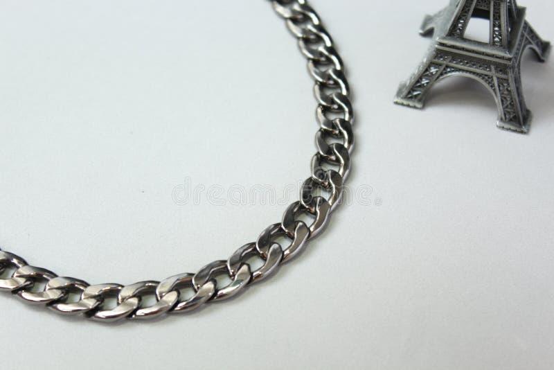 Metal kolii kołnierz zdjęcie royalty free
