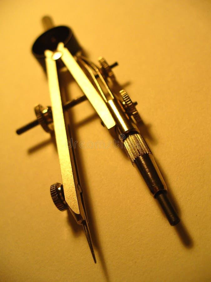 Metal la bussola di progettazione fotografia stock
